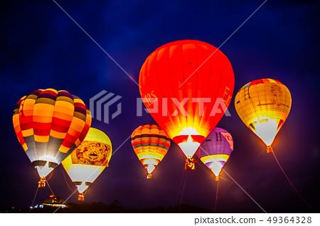 台灣台東熱汽球嘉年華Asia Taiwan Taitung hot air balloon 49364328
