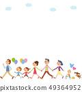 走與氣球的三世代家庭 49364952
