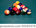 Billiard balls 49365076