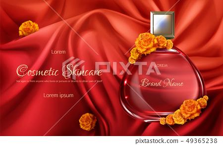Womens perfume 3d realistic vector 49365238