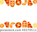 Bread illustration background 49370511