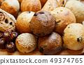 各種麵包緊密排列 49374765