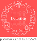 Criminal and detective elements Crime, law and 49385526