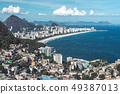 View from Vidigal favela, Rio de Janeiro. 49387013