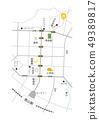 Map around Tokuyama Station 49389817