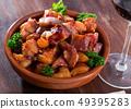 Braised pork snout 49395283