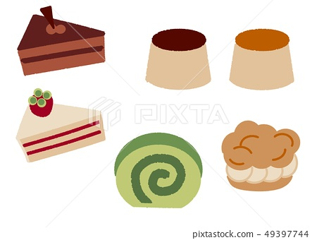 Various cakes (without face) 49397744
