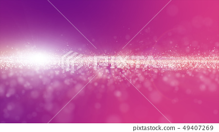 Abstract pink and purple color digital particles 49407269