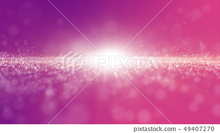 Abstract pink and purple color digital particles 49407270