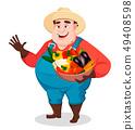 农业 农民 农夫 49408598