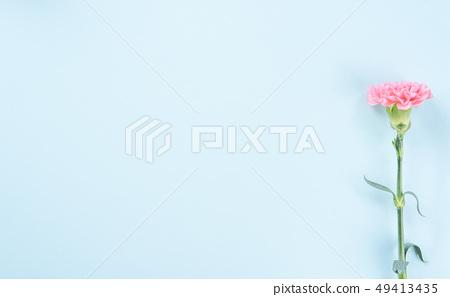 母親節Yasuno Kaoru Sendoku卡片優雅康乃馨頂視圖母親節 49413435