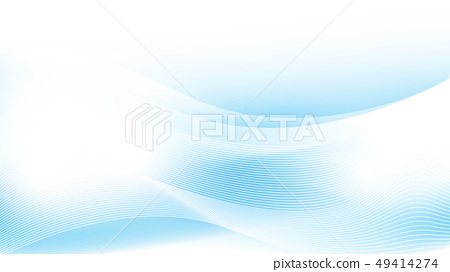 Blue wave Abstract Background 49414274