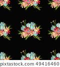 Floral flower cosmos crocus background vector illustration  49416460