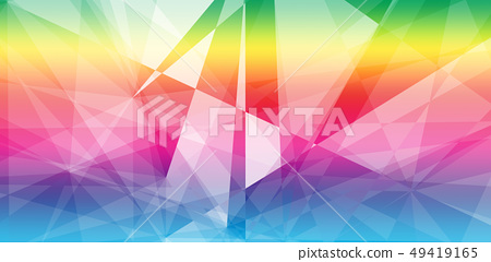 Abstract triangle shape geometric background 49419165