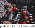boxing, boxer, punching 49422948
