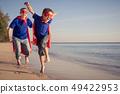 family, couple, run 49422953