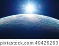 지구와 태양 49429293