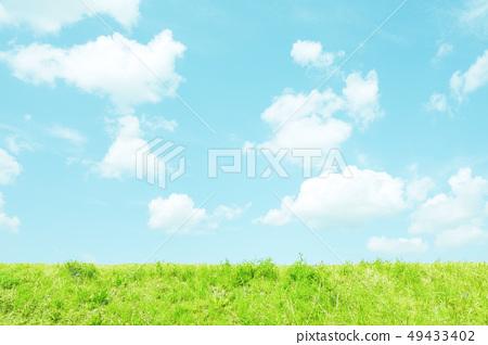 自然風景天空草甸 49433402