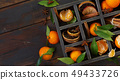 Mandarins and spices 49433726