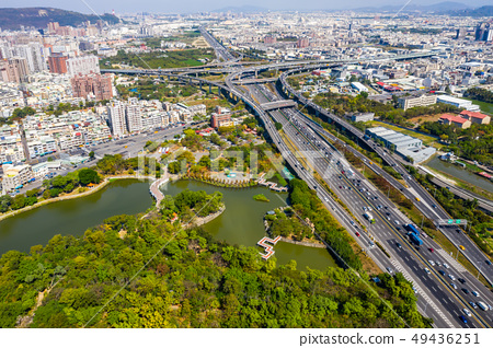 臺灣高雄交通景觀Kaohsiung Traffic Landscape, Taiwan, Asia 49436251