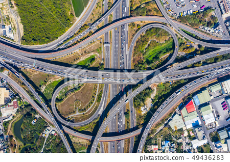 臺灣高雄交通景觀Kaohsiung Traffic Landscape, Taiwan, Asia 49436283