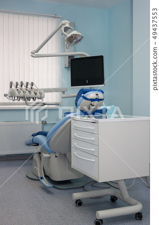 Dental treatment unit and other service equipment. 49437553