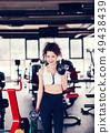 Sporty woman 49438439