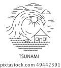 Tsunami Natural Disaster 49442391