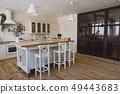 kitchen interior loft style modern minimalism 49443683