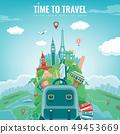 旅行 路标 广告 49453669