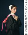 女人 女性 肖像 49454211