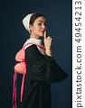 女人 女性 肖像 49454213