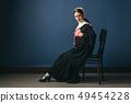 女人 女性 肖像 49454228