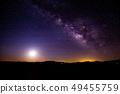 조슈아 트리에서 본 은하수 49455759