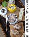 Pork pate and foie gras 49457018