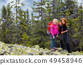 hiker, hiking, mother 49458946