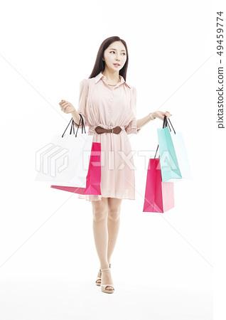 쇼핑,쇼퍼홀릭,비즈니스우먼,젊은여자 49459774