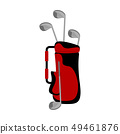 Isolated golf bag image 49461876