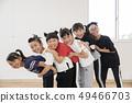 孩子们跳舞教室形象 49466703