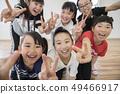 孩子们跳舞教室形象 49466917