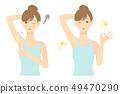 女人Waki頭髮去除02之前 49470290
