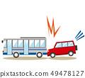 公交车旅游巴士市政公共汽车交通事故事故 49478127