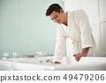 massage, spa, man 49479206