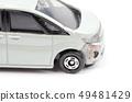 Broken car 49481429
