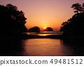 아리아케 해의 아침 풍경 22 49481512