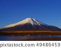Early morning Fuji seen from Lake Yamanaka 49486459