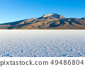 Salar de Uyuni,Cerro Tunupa view 49486804
