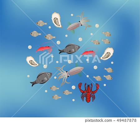 seafood collection set 49487878