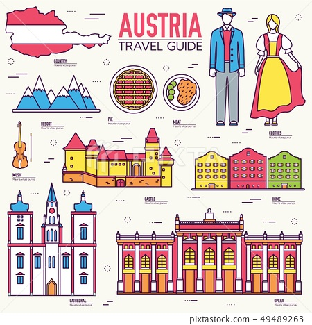 Country Austria travel vacation guide. 49489263