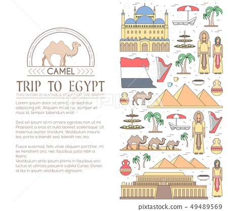 Country Egypt travel vacation guide. 49489569